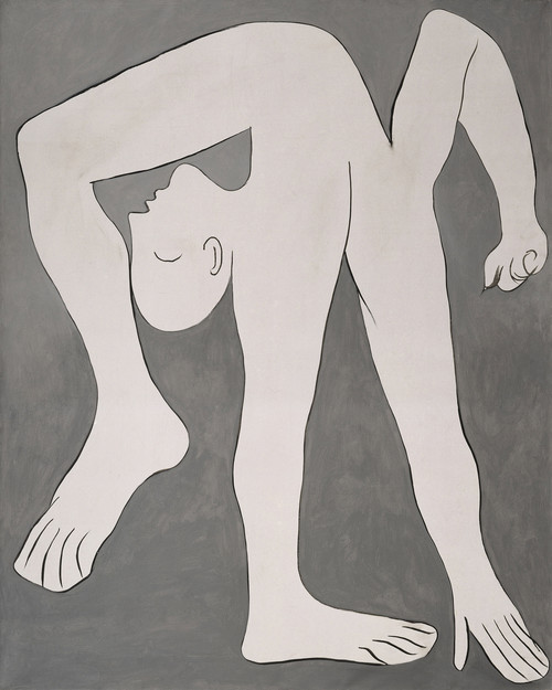 A Picasso painting - L'acrobate